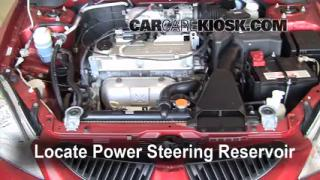 Follow These Steps to Add Power Steering Fluid to a Mitsubishi Lancer (2002-2007)