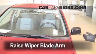 Front Wiper Blade Change Mitsubishi Lancer (2002-2007)