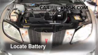 How to Jumpstart a 1995-2005 Pontiac Sunfire