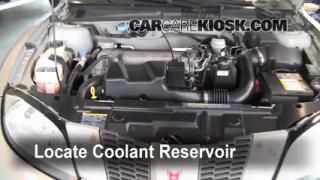 How to Add Coolant: Pontiac Sunfire (1995-2005)