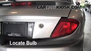 Reverse Light Replacement 1995-2005 Pontiac Sunfire
