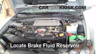Add Brake Fluid: 2002-2003 Subaru Impreza