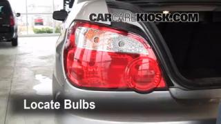 Brake Light Change 2002-2003 Subaru Impreza