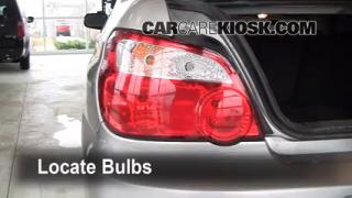 Tail Light Change 2002-2003 Subaru Impreza