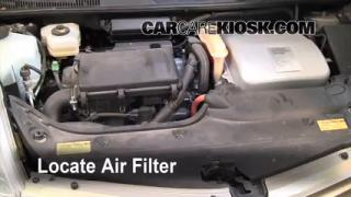 2004-2009 Toyota Prius Engine Air Filter Check