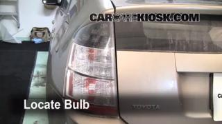 Reverse Light Replacement 2004-2009 Toyota Prius