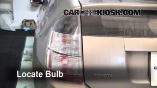 Tail Light Change 2004-2009 Toyota Prius
