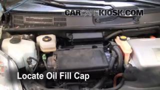 How to Add Oil Toyota Prius (2004-2009)