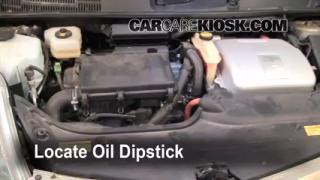 Check Oil Level 2004-2009 Toyota Prius