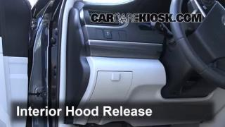 Open Hood How To 2004-2009 Toyota Prius