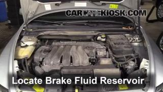 Add Brake Fluid: 2004-2010 Volvo S40