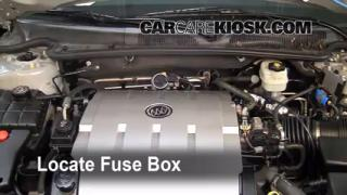 Blown Fuse Check 2006-2011 Buick Lucerne