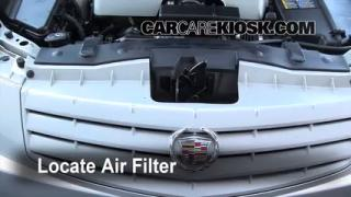 2003-2007 Cadillac CTS Engine Air Filter Check