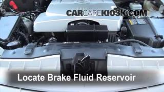 Add Brake Fluid: 2003-2007 Cadillac CTS