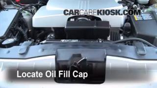 How to Add Oil Cadillac CTS (2003-2007)
