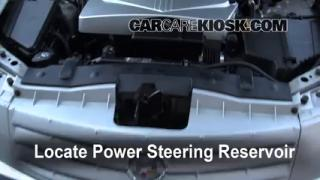 Follow These Steps to Add Power Steering Fluid to a Cadillac CTS (2003-2007)