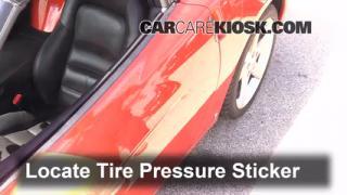 Properly Check Tire Pressure: Chevrolet Corvette (2005-2013)