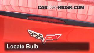 Third Brake Light Bulb Change Chevrolet Corvette (2005-2010)