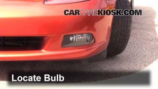 Fog Light Replacement 2005-2013 Chevrolet Corvette