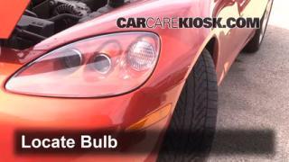 Parking Light Change 2005-2010 Chevrolet Corvette