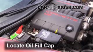 How to Add Oil Chevrolet Corvette (2005-2013)