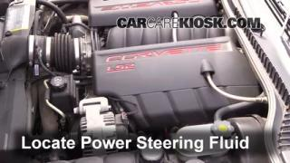 Follow These Steps to Add Power Steering Fluid to a Chevrolet Corvette (2005-2013)