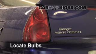 Tail Light Change 2006-2007 Chevrolet Monte Carlo