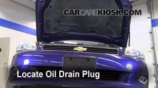 Oil & Filter Change Chevrolet Monte Carlo (2006-2007)