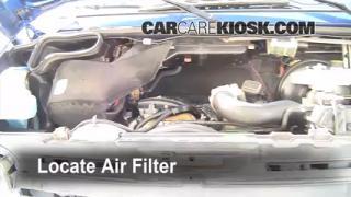 Air Filter How-To: 1994-2003 Dodge Ram 1500 Van