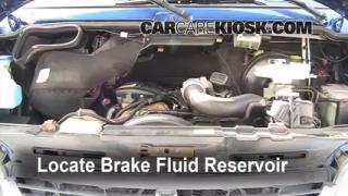 Add Brake Fluid: 1994-2003 Dodge Ram 1500 Van