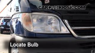 Headlight Change 1994-2003 Dodge Ram 1500 Van