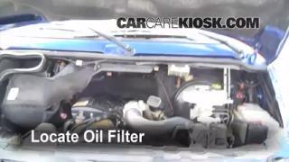 Oil & Filter Change Dodge Ram 1500 Van (1994-2003)