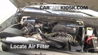 2002-2010 Mercury Mountaineer Engine Air Filter Check