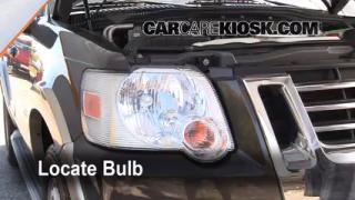 Highbeam (Brights) Change: 2002-2010 Mercury Mountaineer