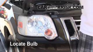 Parking Light Change 2002-2010 Mercury Mountaineer