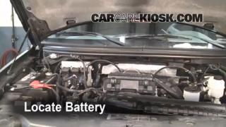 Battery Replacement: 2004-2008 Ford F-150