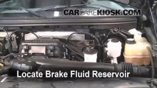 Add Brake Fluid: 2004-2008 Ford F-150