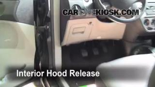 Open Hood How To 2005-2007 Ford Focus