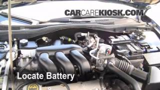 Battery Replacement: 2006-2009 Ford Fusion