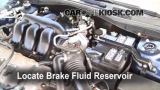 Add Brake Fluid: 2006-2009 Ford Fusion