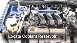 Coolant Level Check: 2006-2009 Fusion