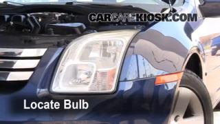 Headlight Change 2006-2009 Ford Fusion