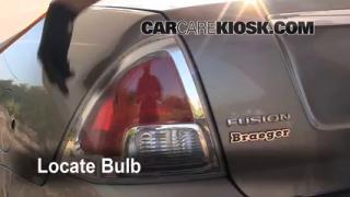 Tail Light Change 2006-2009 Ford Fusion