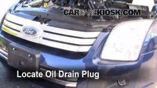 Oil & Filter Change Ford Fusion (2006-2009)