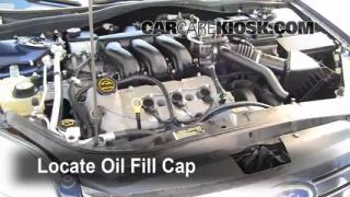 How to Add Oil Ford Fusion (2006-2009)