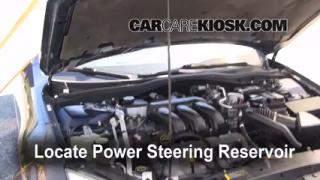 Follow These Steps to Add Power Steering Fluid to a Ford Fusion (2006-2009)