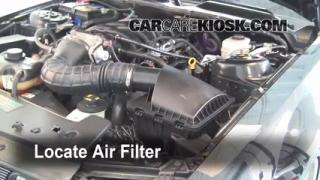 Air Filter How-To: 2005-2009 Ford Mustang