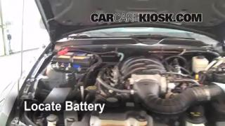 Battery Replacement: 2005-2009 Ford Mustang