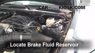 Add Brake Fluid: 2005-2009 Ford Mustang