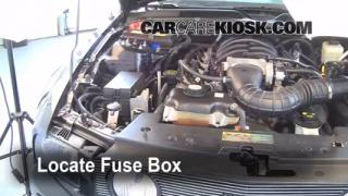 Blown Fuse Check 2005-2009 Ford Mustang
